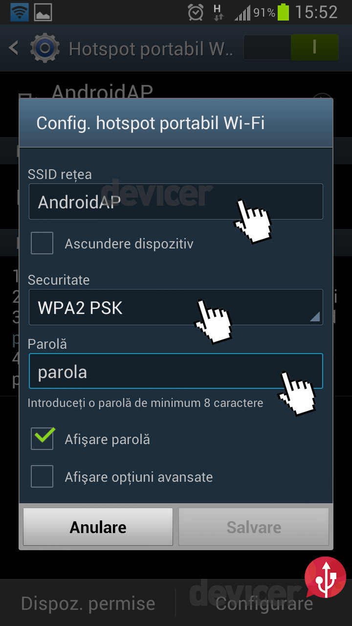 Android router wireless portabil 7