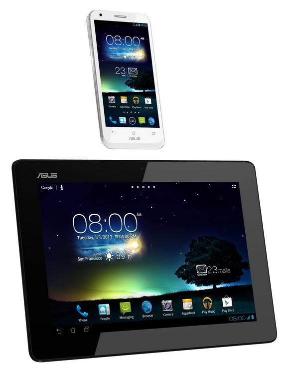 Asus Padfone 2 station front