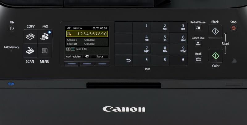 Canon Pixma MX925 front pannel