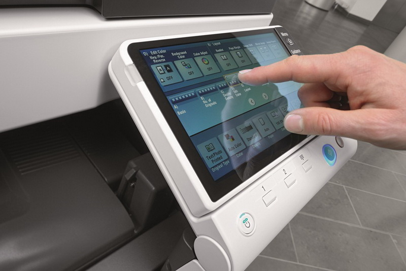 Panoul Multitouch