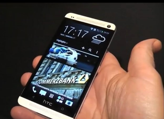 HTC One hans on