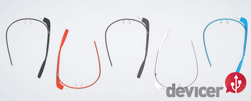 google glass multiple collors
