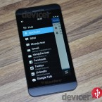 BlackBerry Z10 bb hub