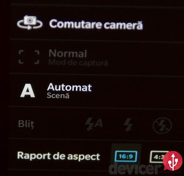 BlackBerry Z10 burst photo mode