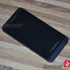 BlackBerry Z10 front angle