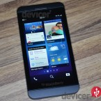 BlackBerry Z10 last used apps