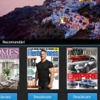 BlackBerry Z10 newsstand