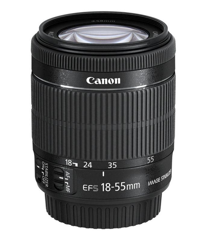 Canon EF-S 18-55 IS STM FRA