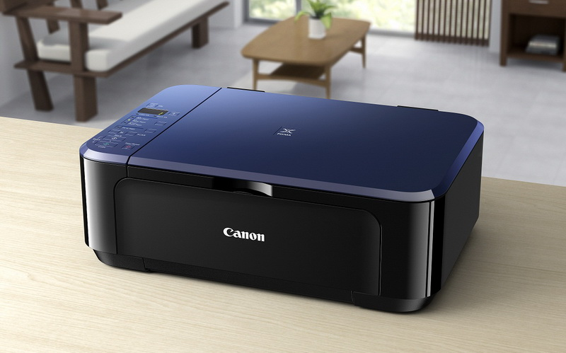 Canon PIXMA E514 on desk