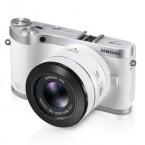 NX300 cu obiectiv 45mm 3D_alb