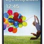 Samsung GALAXY S 4 black front