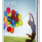 Samsung GALAXY S 4 front side white
