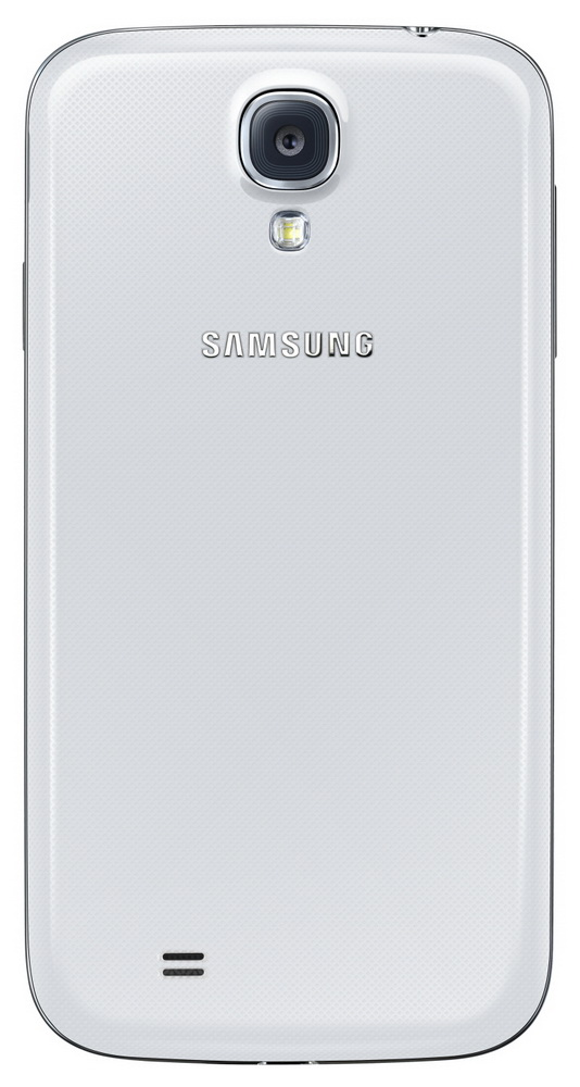 Samsung GALAXY S 4 white back