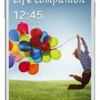 Samsung GALAXY S 4 white front