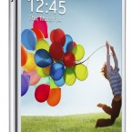 Samsung GALAXY S 4 white front side