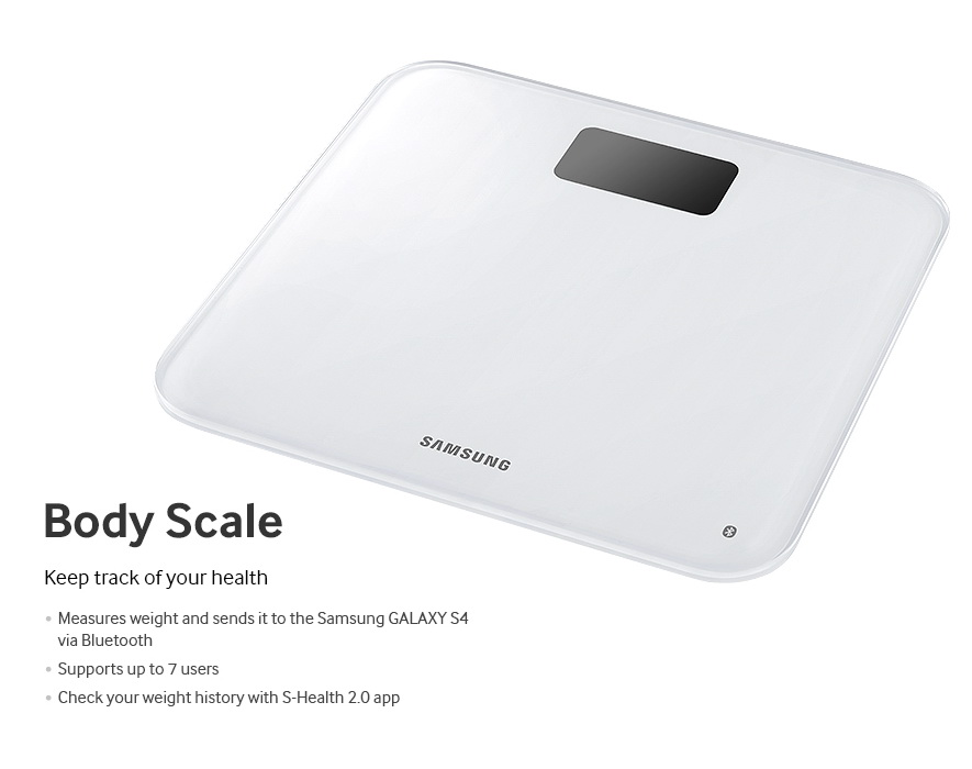 Samsung Galaxy S4 accesory - Body Scale