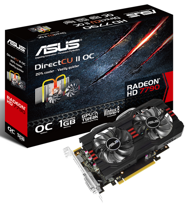 asus hd 7790 directcu ii with box