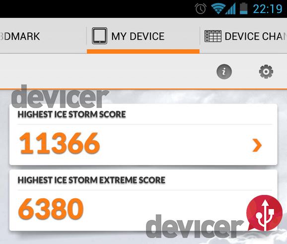 3DMark android nexus 4