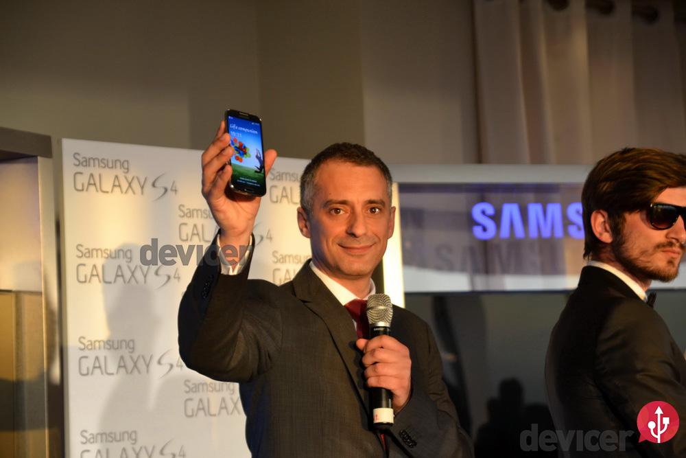 Lansare Samsung Galaxy S4  - Sorin Manea