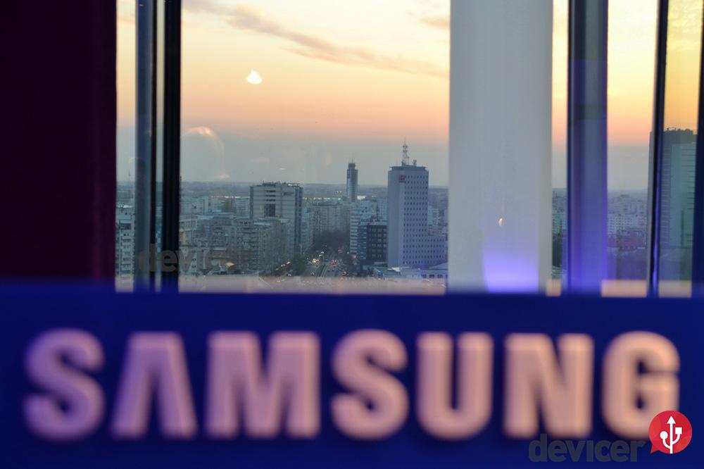 Lansare Samsung Galaxy S4 - samsung logo