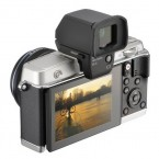 Olympus PEN E-P5 angle with viewfinder
