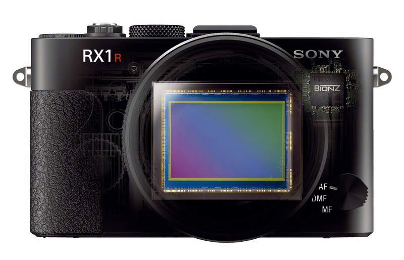 sony RX1R Front sensor