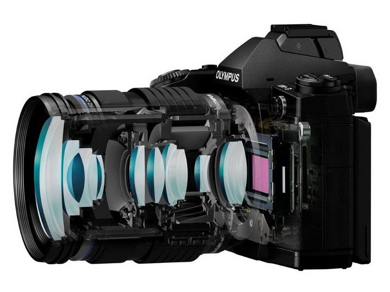Olympus OM-D E-M1 lenses