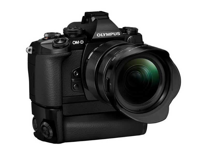 Olympus OM-D E-M1 with grip