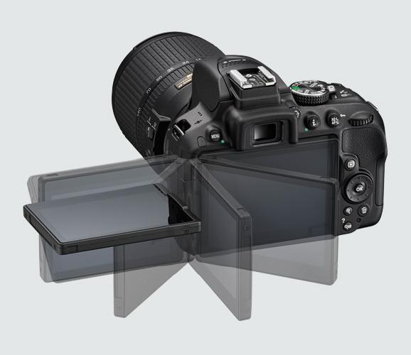 Nikon D5300 screen