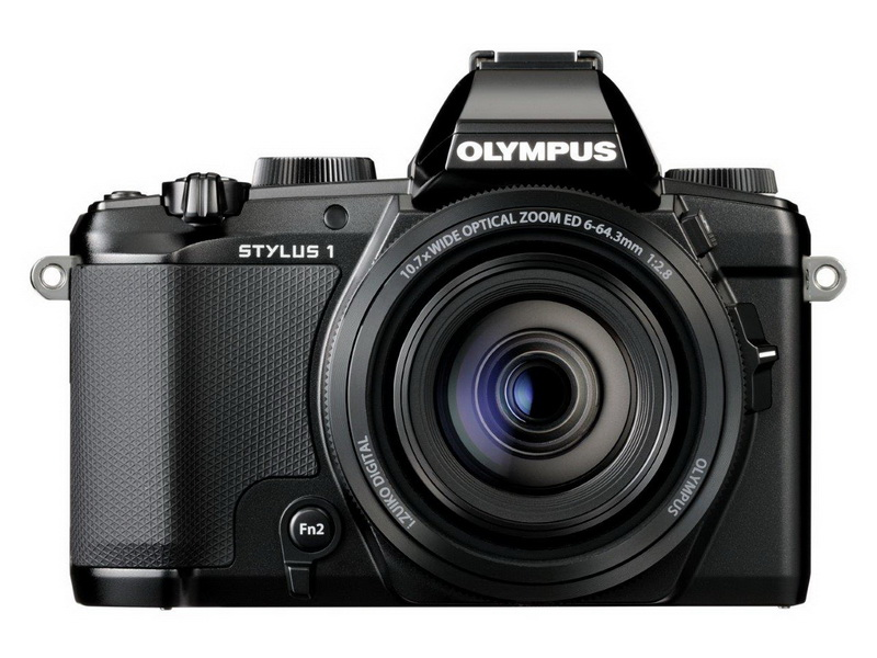 Olympus Stylus 1 front view