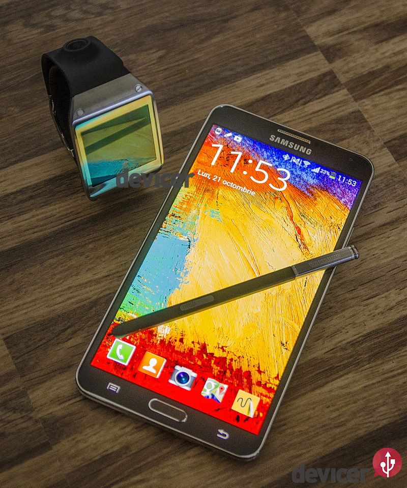 Samsung Galaxy Note 3, Galaxy Gear