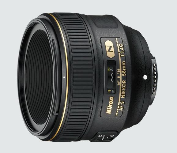 obiectiv nikkor 58mm f1.4