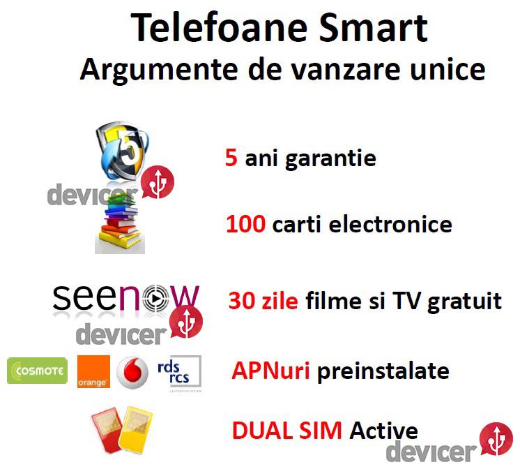 utok - smartphone argumente de vanzare