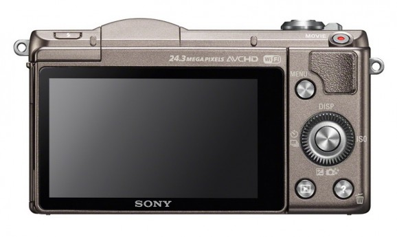 Sony A5100 back