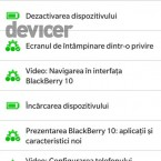 BlackBerry Z10 Assistence initializare