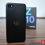 BlackBerry Z10 back with box