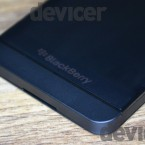 BlackBerry Z10 bottom angle