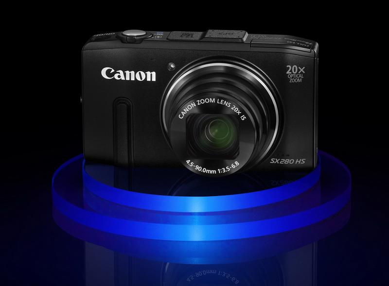 Canon PowerShot SX280HS ambient