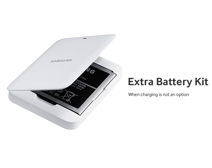 Samsung Galaxy S4 accesory - Extra Battery Kit