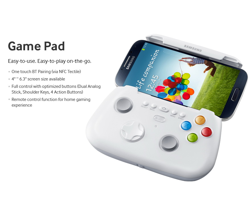 Samsung Galaxy S4 accesory - Game Pad