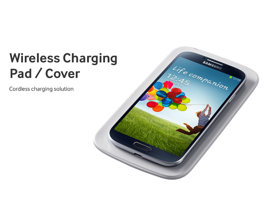 Samsung Galaxy S4 accesory - Wireless Charging Pad Cover