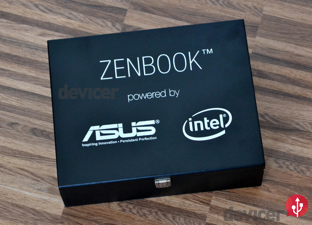 Asus Zenbook Black Box