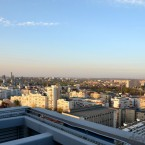 Lansare Samsung Galaxy S4  - Bucharest from the roof of the Crystal Tower