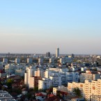 Lansare Samsung Galaxy S4  - Bucharest from the roof of the Crystal Tower 2