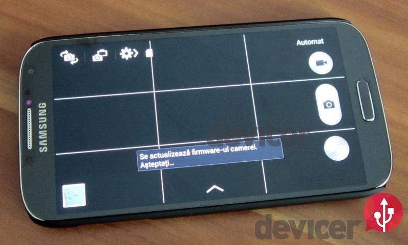 Samsung Galaxy S4 devicer.ro camera firmware update
