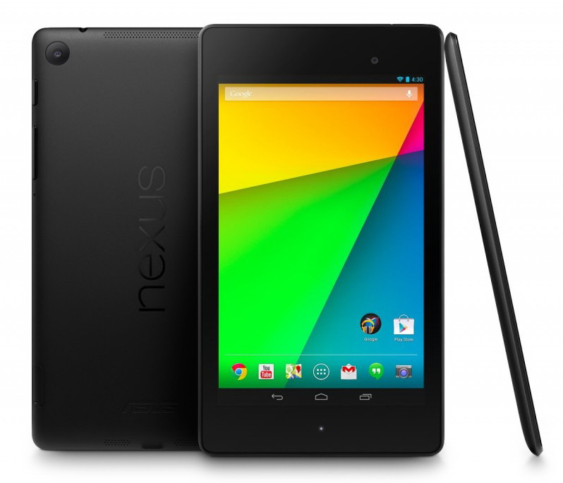 nexus 7 2013 front back side