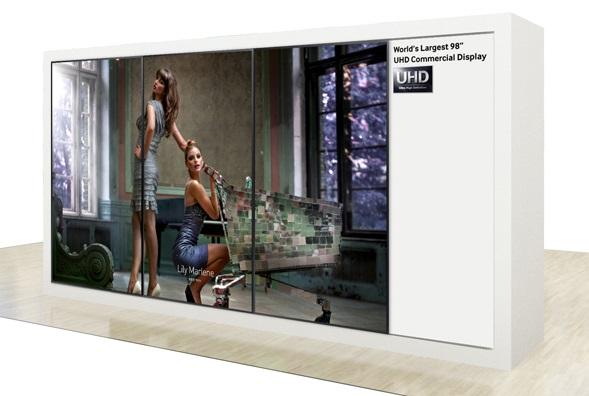 Samsung Display UHD 4k 98 inch