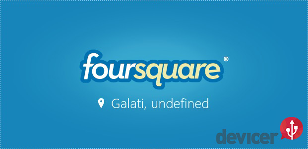 foursquare pe windows 8