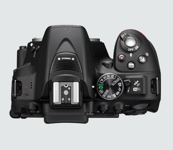 Nikon D5300 body top