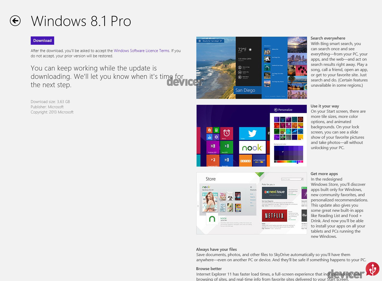 Upgrade Windows 8.1 - 2